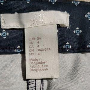 H&M Pants - H&M dress pants, navy, size 4